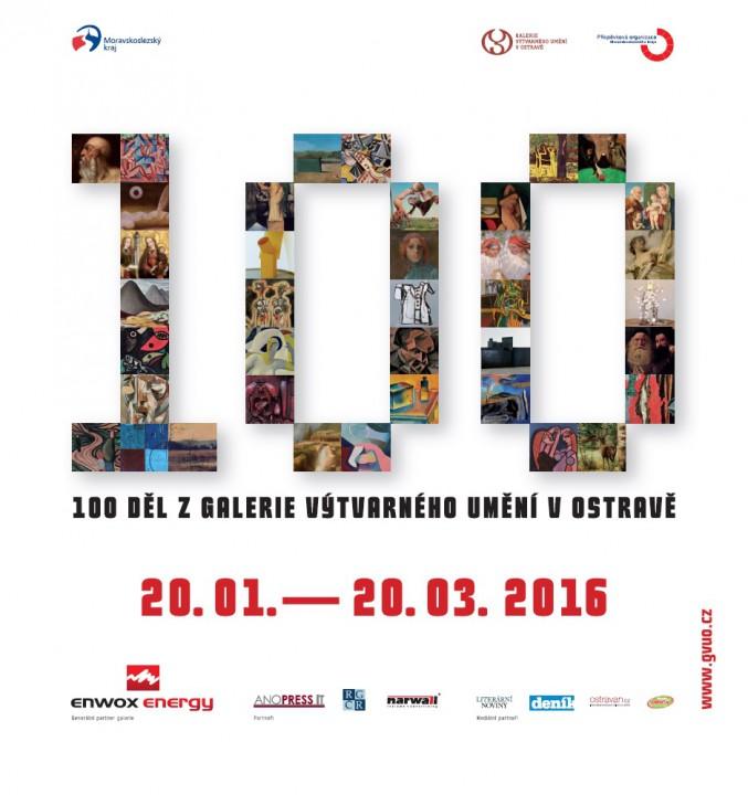 Sto děl z Galerie výtvarného umění v Ostravě