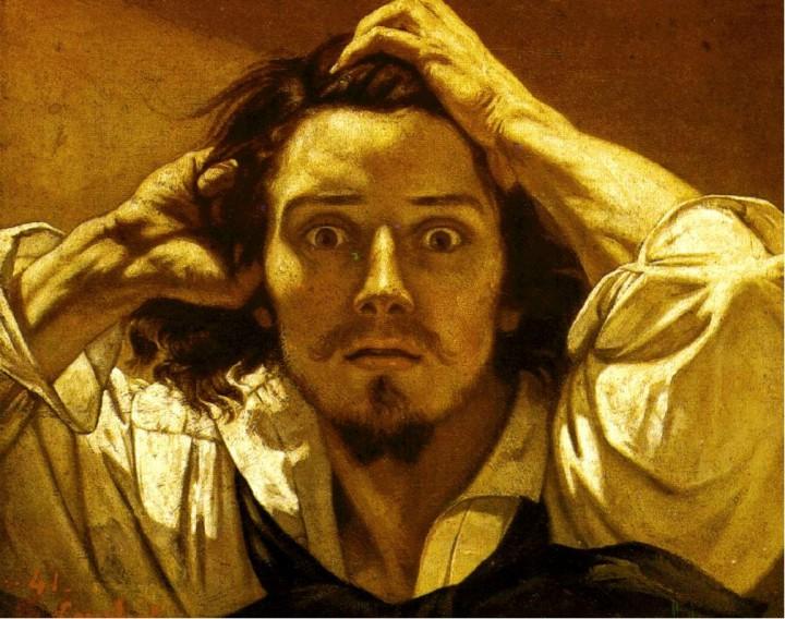 Gustave Coubert, Autoportrét