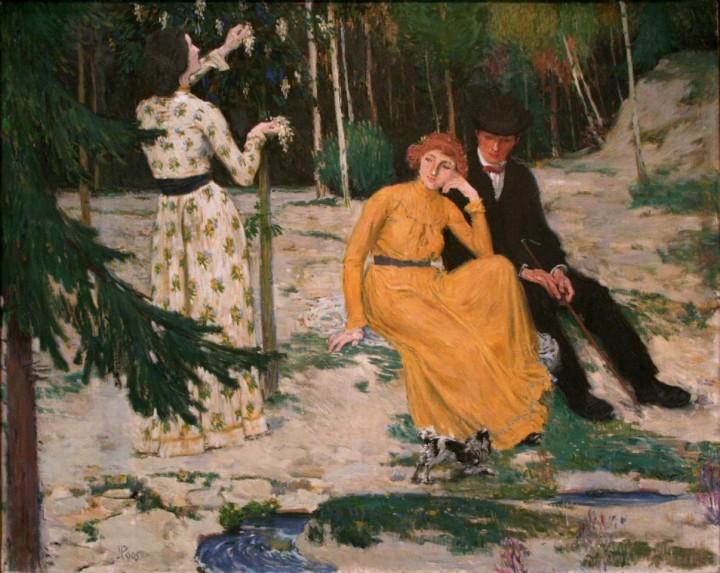 Jan Preisler, Lovers, c. 1900