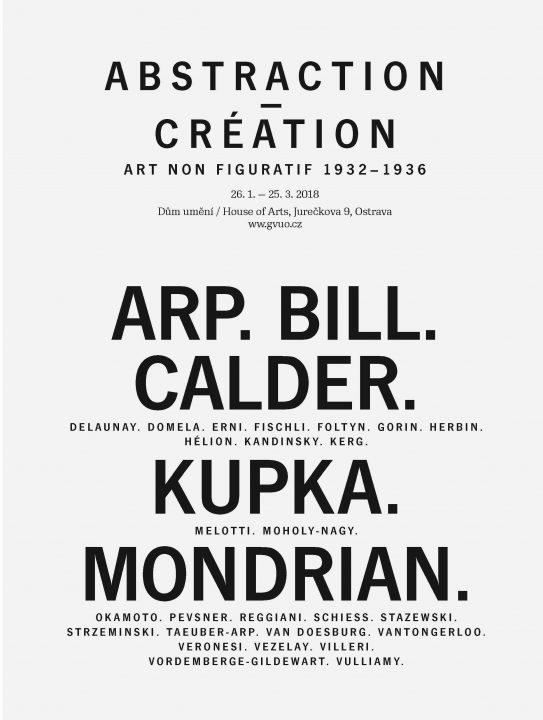 Abstraction-Création art non fi guratif 1932–1936 Arp, Bill, Calder, Kupka, Mondrian