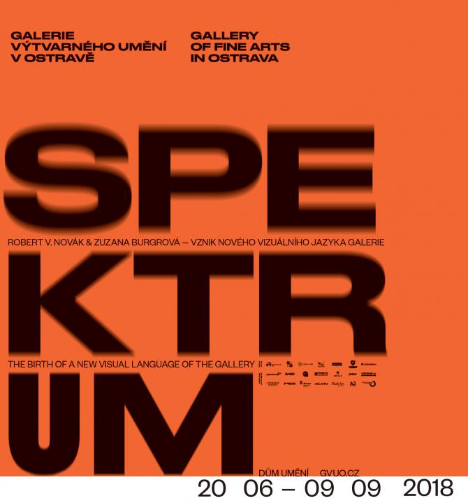 Spektrum Vznik nového vizuálního jazyka GVUO / Robert V. Novák / Zuzana Burgrová