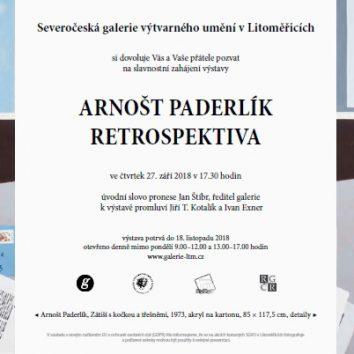 Arnošt Paderlík – Retrospektiva