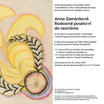 Anna Zemánková – Radostné poselství do neznáma