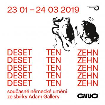 DESET / současné německé umění ze sbírky Adam Gallery