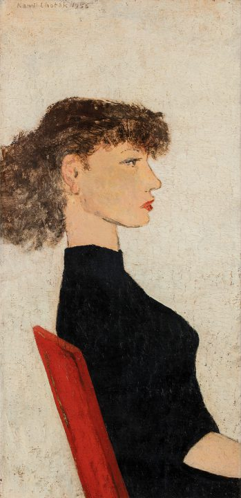 Minigalerie IV. – Kamil Lhoták – Portréty